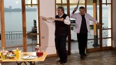 Mihai Stoichiţă dă la peşte... pe grătar, în Politică şi delicateţuri