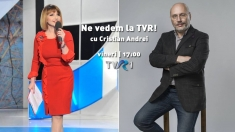 """Ne vedem la TVR cu """"doctorul de suflete"""" Cristian Andrei"""