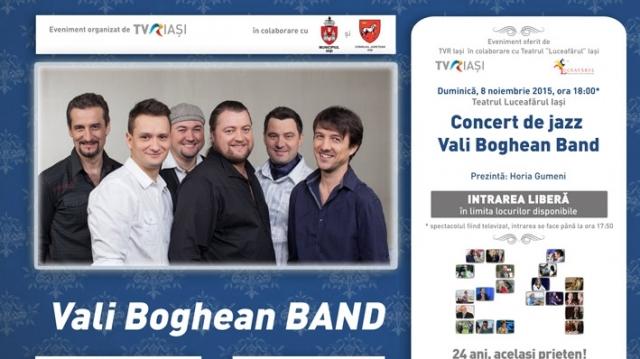Vali Boghean Band la TVR Iasi 24