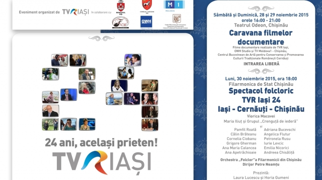 TVR Iasi 24 la Chisinau