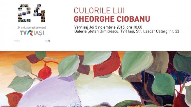 Gheorghe Ciobanu afis TVR Iasi 24