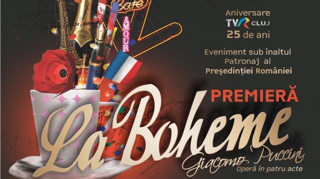 Afiş premiera Boema