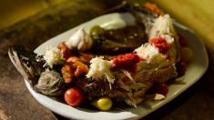 Rețeta lui Dinescu: ciorbă vârtoasă de pește si tuzlama din burtă de somn