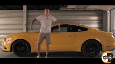 Giurgea şi Bratu se întrec în noile modele Ford Mustang V8 şi Mini Cooper S