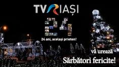Crăciun liniştit alături de TVR Iaşi