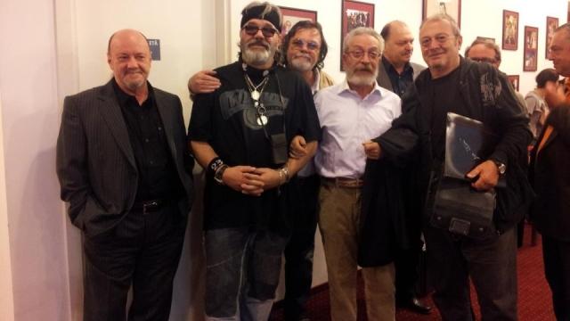 Evandro Rossetti lansare CD Teatrul Excelsior