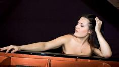 Raluca Ştirbăţ promovează muzica lui Enescu în lume