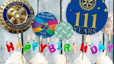 111 ani de Rotary Internaţional