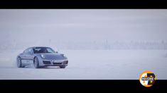 Lecţii de condus pe gheaţă, cu Giurgea şi Bratu, direct de la Cercul Polar