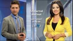 """Dorina Florea şi Mihai Melinescu, noii """"matinali"""" ai Ştirilor TVR"""
