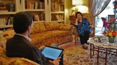"""Ediţie specială """"Lumea şi noi"""" dedicată sopranei Virginia Zeani, la TVRi"""