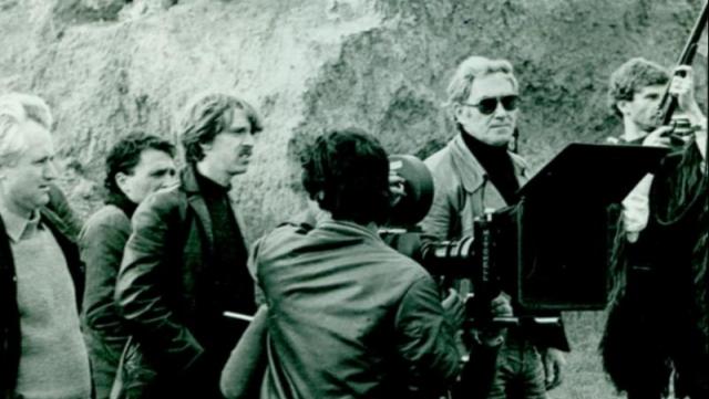 George Cornea la filmări