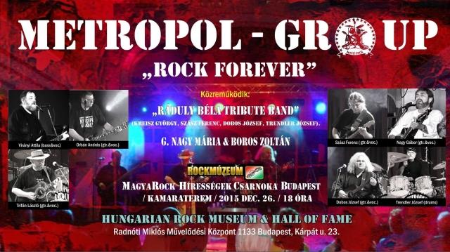 Metropol în Hall of Fame Budapesta