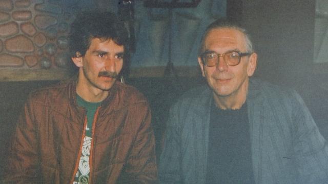Willis Conover şi Emilian Tantana