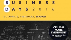 Business Days – Timişoara 2016