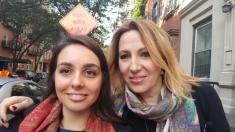 România deşteaptă la New York: Cristina Ghenoiu