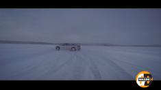 Lecţii de condus pe gheaţa polară, cu Giurgea şi Bratu