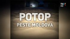 Potop peste Moldova