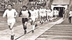 Performanță la rugby și amintiri la fotbal