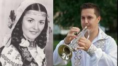Elena Jurjescu şi Ştefan Constantin Moacă sărbătoriţi la Cântec şi Poveste!