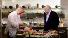 Rețeta lui Dinescu din 22 mai: curcan la cuptor și bulgur cu legume
