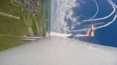 Vino să vezi: spectacol aerian la Clinceni, salon de carte Bookfest