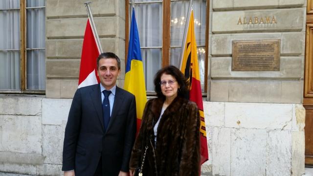 Ambasador Anca Opriş