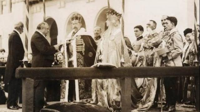 Încoronarea, Alba Iulia