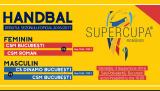 Supercupa României la handbal, sâmbătă, live la TVR