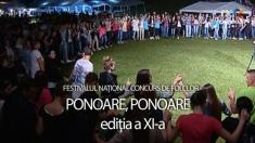 """Festivalului Naţional Concurs de Folclor """"Ponoare, Ponoare"""""""