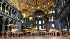 """Artă la Teleenciclopedia: Mozaicul din Madaba şi """"Sfânta Sofia"""" din Istanbul"""