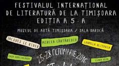 Festivalul Internaţional de Literatură de la Timişoara