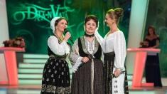 Premieră la O dată-n viaţă: Angelica Stoican cântă cu fiicele ei