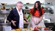 Paula Seling, prinţesă în bucătăria lui Dinescu