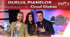 TVR vă invită la spectacolul DUELUL PIANELOR - o ediţie specială de Sărbători!