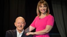 Marina Almăşan se întâlneşte cu primul ei dascăl de televiziune