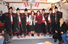 Popas la Drăgănești-Olt cu Rapsozii Oltului