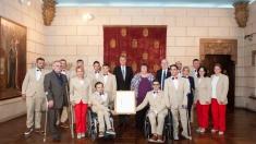 Sportivii paralimpici, oaspeţi de onoare la Palatul Elisabeta