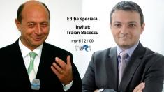 """Traian Băsescu în dialog cu Mihai Rădulescu, într-o """"Ediţie specială"""""""