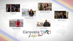 Caravana TVRi: Jurnaliștii TVR Internațional, de vorbă cu românii de pretutindeni