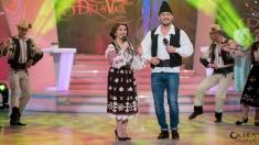 """Niculina Stoican în duet cu Ştefan Stan, la """"O dată-n viaţă"""""""