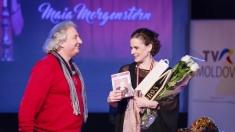 """Prima ediţie """"Întâlnirile TVR MOLDOVA"""", la Chişinău - cu Maia Morgenstern"""