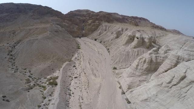 Cap compas, Qumran