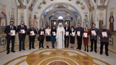 """Emisiunea """"Universul credinţei"""", premiată de Patriarhul României"""