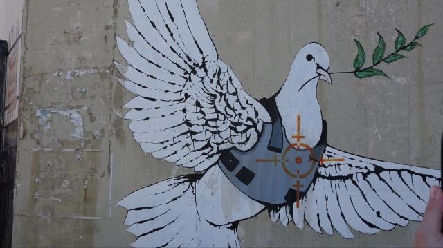 Cap compas, Palestina