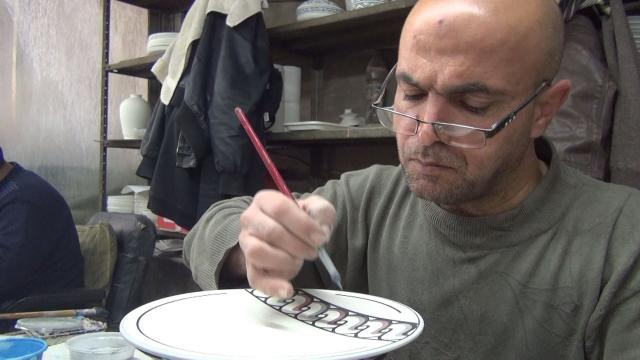 Cap compas, ceramica