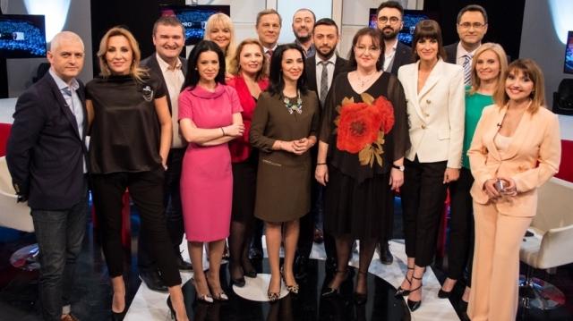 Romania9 vedete TVR