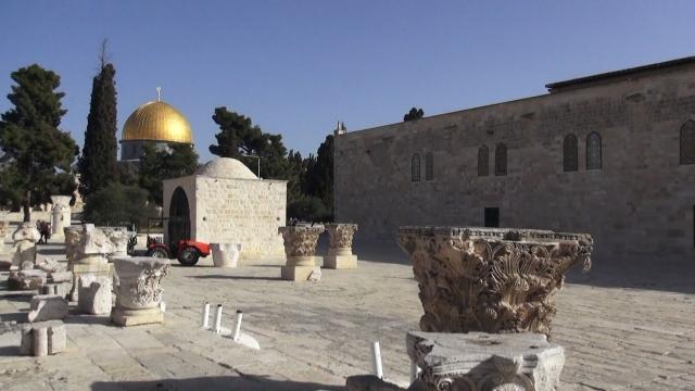 Cap compas, Ierusalim