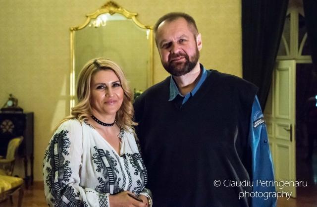 Simona Ionescu muzeograf si Cristi Tabara
