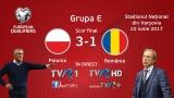 TVR 1 - lider de audiență cu partida Polonia - România